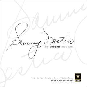 cover of Sammy Nestico's album with the Jazz Ambassadors